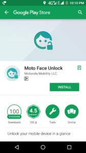 how to enable face unlock