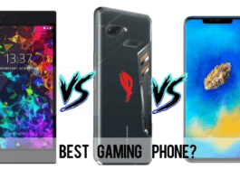 Huawei Mate 20 X vs Razer Phone 2 vs Asus ROG Phone