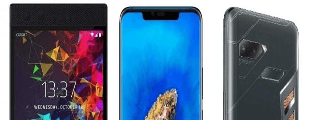 Huawei Mate 20 X vs Razer Phone 2 vs Asus ROG Phone