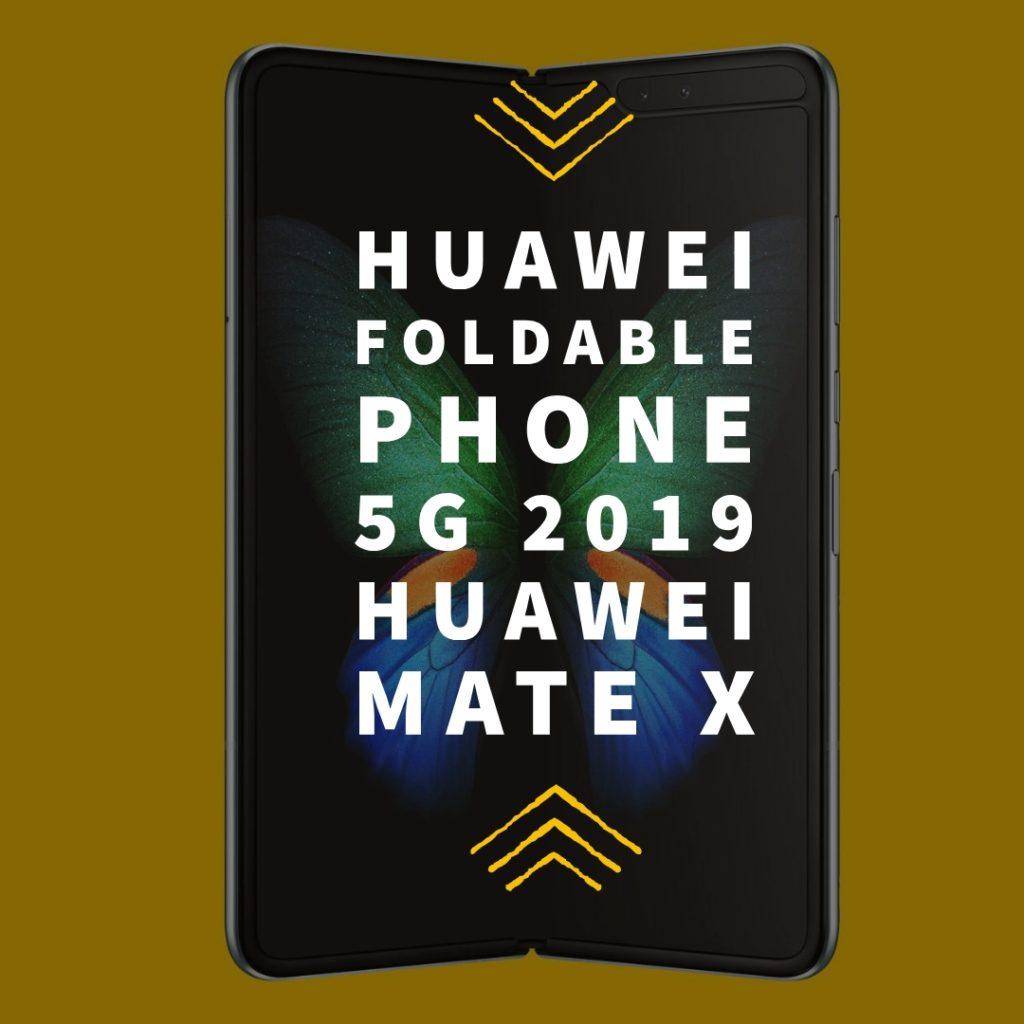 Huawei foldable phone in 2019