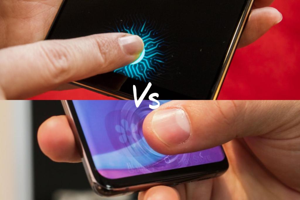 Optical Vs Ultrasonic Fingerprint Sensor