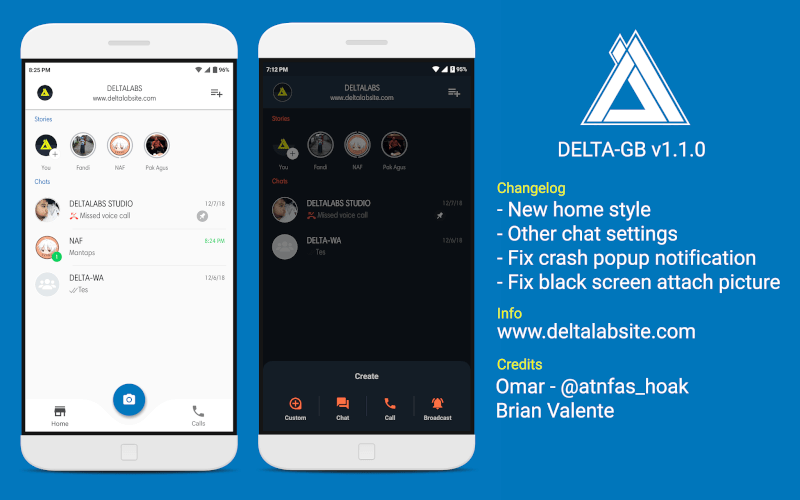 Delta GB WhatsApp