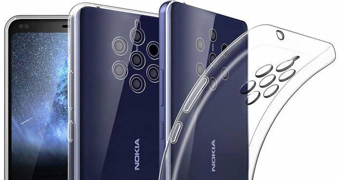 Nokia 9 PureView penta-camera setup