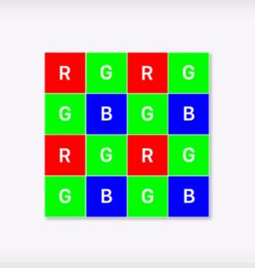 Non pixel binning