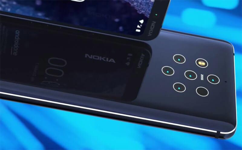Nokia 9 PureView rear