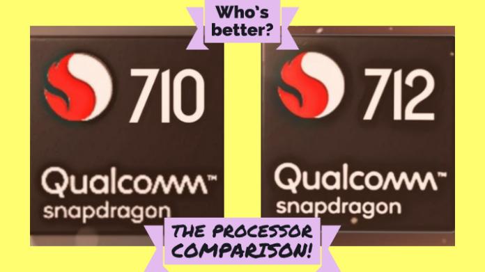 Snapdragon 710 vs Snapdragon 712