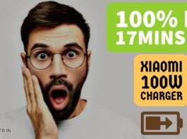 Xiaomi 100watt charger