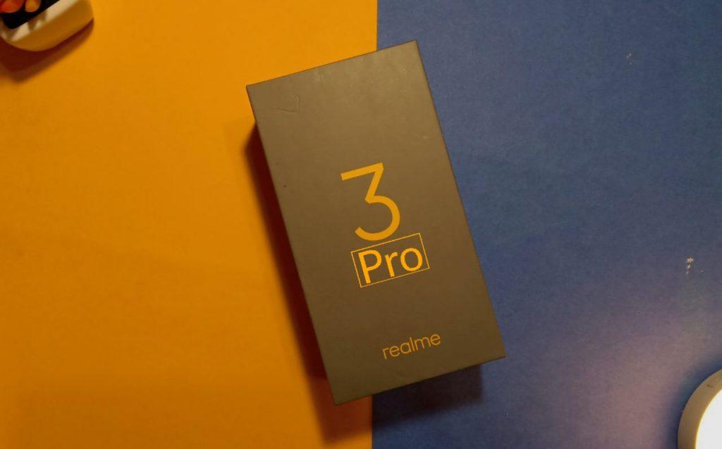 RealMe. RealMe 3 Pro.