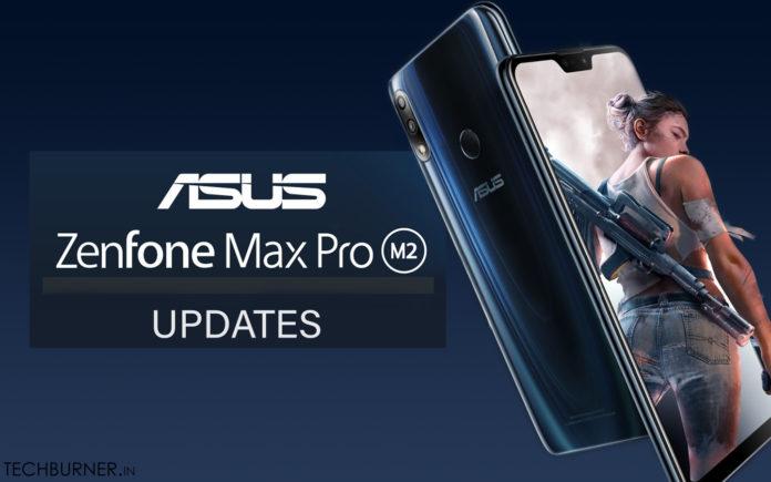 Zenfone max pro m2 updates