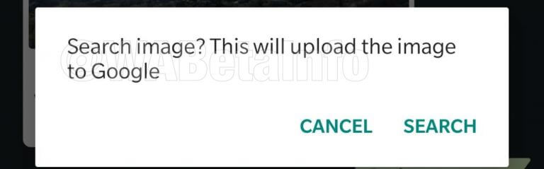 WhatsApp fake news image search feature