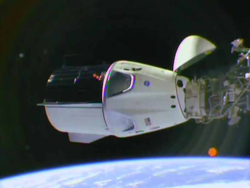 Crew Dragon. SpaceX