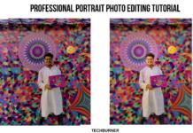 professional portrait photo editing tips