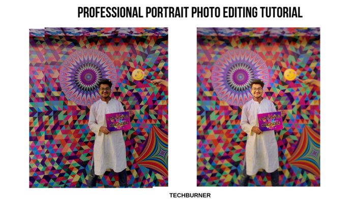 professional portrait photo editing tips