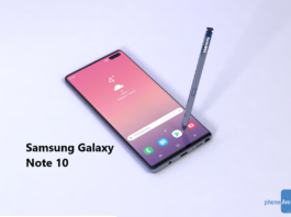 Samsung Galaxy Note 10 Specification
