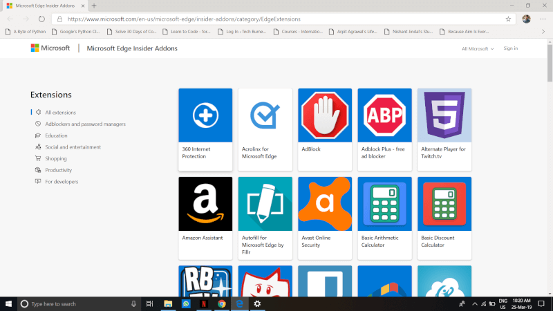 Microsoft Edge. Edge Chromium. Chromium.