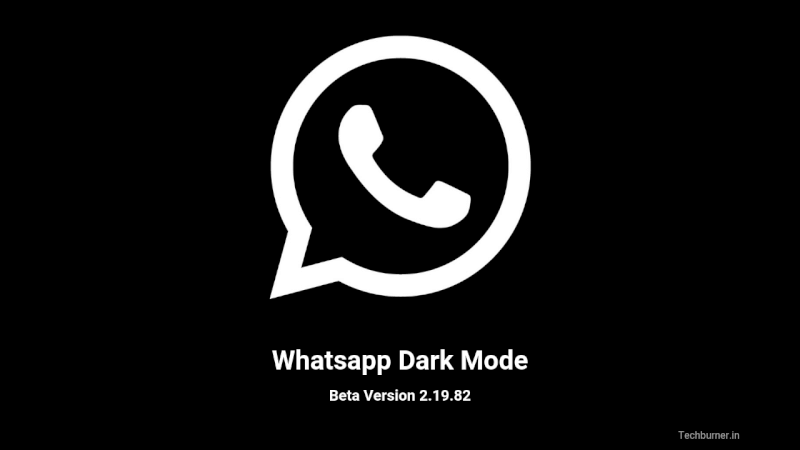 Whatsapp gets Dark Mode