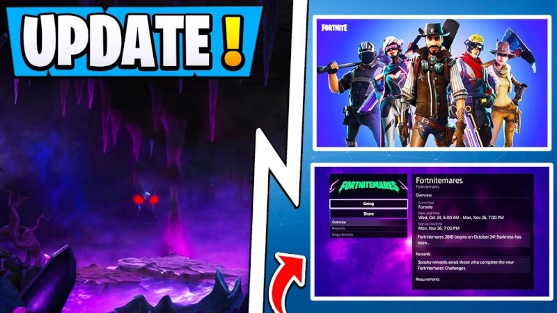 Fortnite Update v8.10