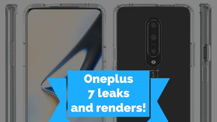 Oneplus 7 leaks