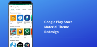 PLAY STORE MATERIAL THEME