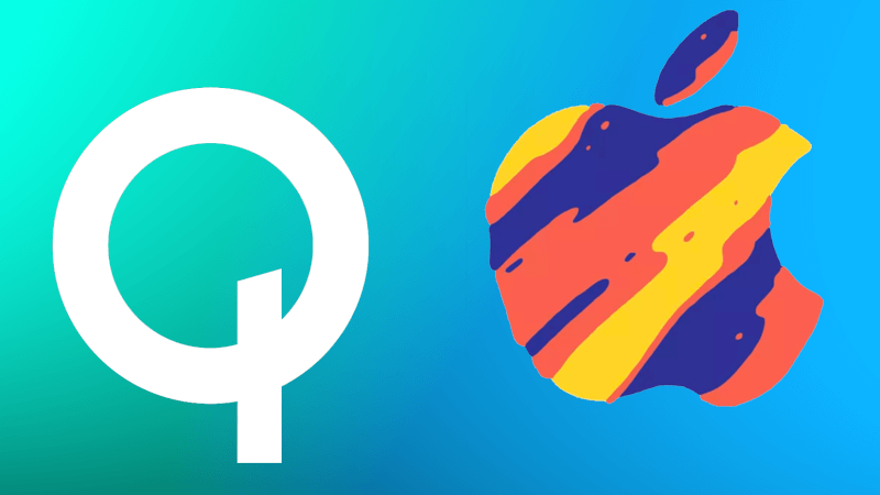 Apple. Qualcomm. iPhones
