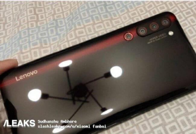 Lenovo z6 Pro Quad Camera