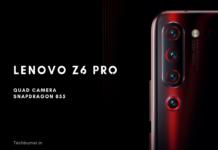 Lenovo Z6 Pro Price in india