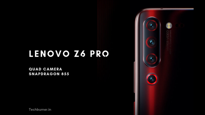 Lenovo Z6 Pro Price in india