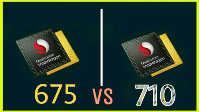 Snapdragon 675 vs 710