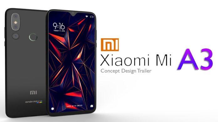 mi a3 price, mi a3 features