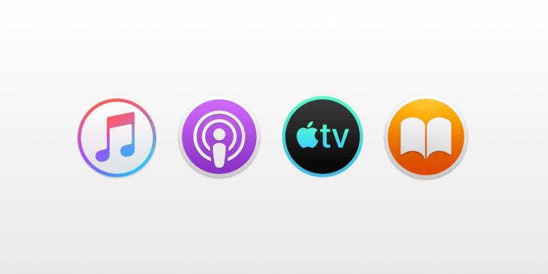 Music app on macOS