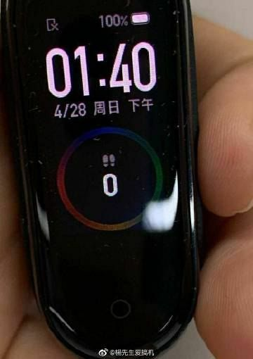 Xiaomi Mi Band 4 Images Leaks