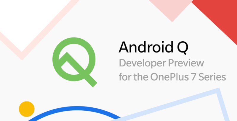 OnePlus 7 Pro Android Q