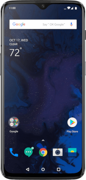 Android Q on OnePlus 6T