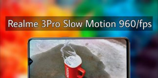 Realme 3 Pro 960FPS Slow Motion is fake