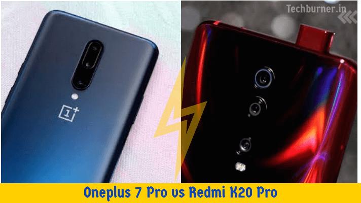 Oneplus 7 Pro vs Redmi K20 Pro