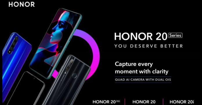honor 20 launch date in india