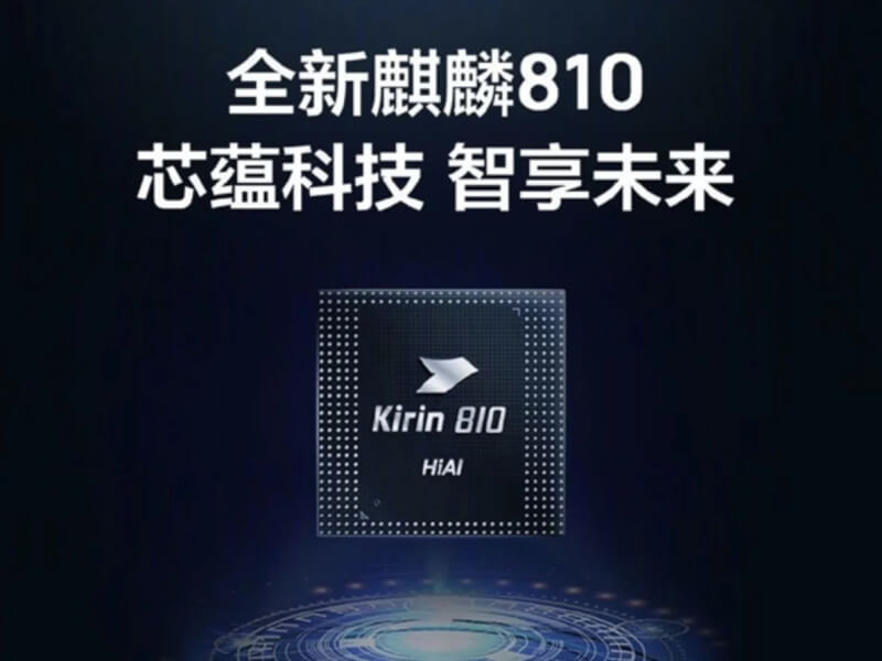 Kirin 810 vs snapdragon 710 Da Vinci architecture NPU