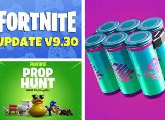 fortnite new update, fortnite 9.30 update, fortnite update 9.30, fortnite 9.30 update patch notes, fortnite new drink,