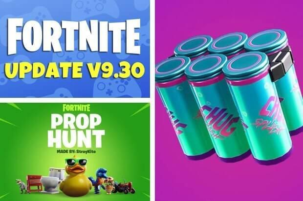 fortnite new update, fortnite 9.30 update, fortnite update 9.30, fortnite 9.30 update patch notes, fortnite new drink,