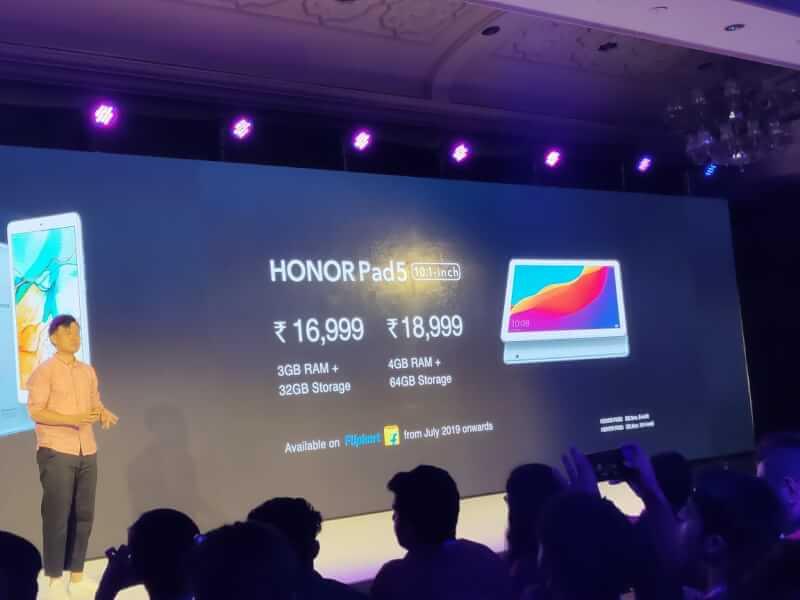 honor pad 5 10.1-inch