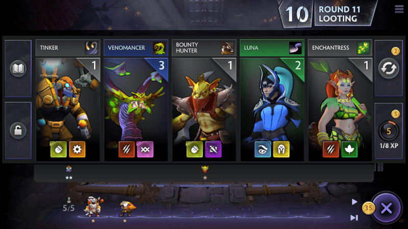 Download Dota Underlords Mobile Version 1.0
