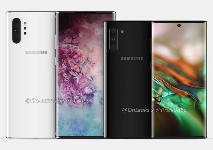 samsung galaxy note 10 leaks, samsung note 10, samsung galaxy note 10 release date in India, samsung galaxy note 10 price in India, samsung galaxy note 10 screen size