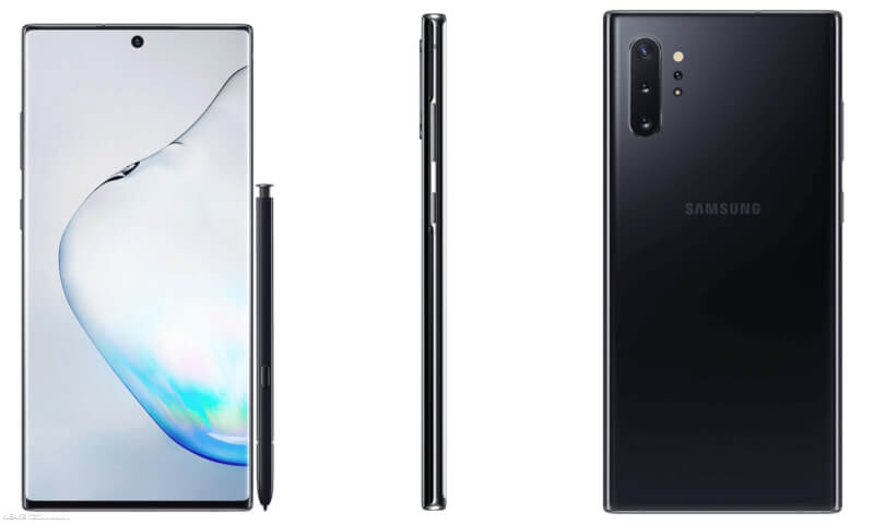 samsung galaxy note 10 leaked renders