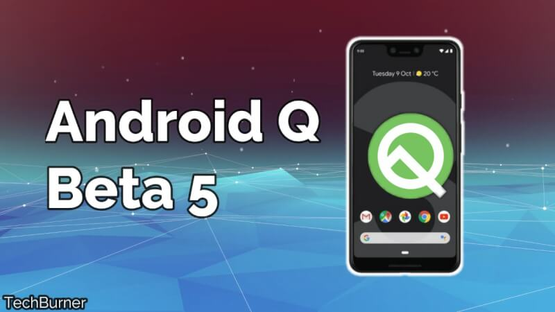 Android Q Beta 5, Android q beta 5 download, android q release date in India, android q beta download, how to download android q beta,