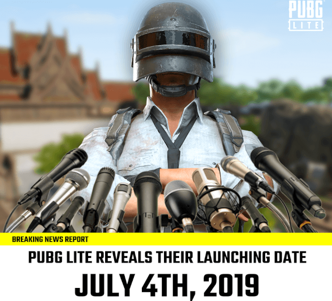 PUBG Lite India Launch Date