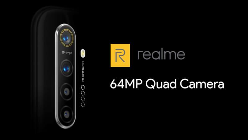 Realme 64MP Quad Camera