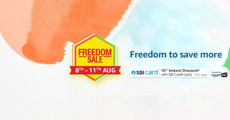 amazon freedom sale 2019, asus sale, honor sale, realme sale, flipkart national shopping days