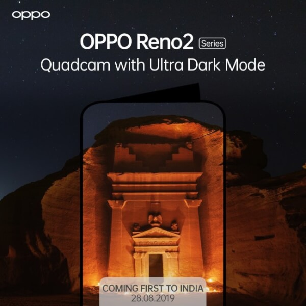 Oppo reno 2 leaks, Oppo Reno 2 launch date in India, Oppo Reno 2 Price in India, Oppo Reno 2 features, Oppo Reno Specification