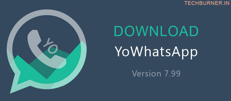 YoWhatsapp download 7.99 APk mod