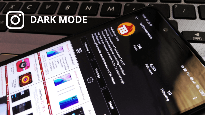 Download Instagram Dark Mode APK